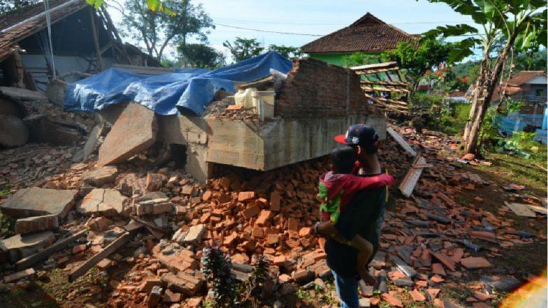 इंडोनेशिया सुनामी : भूकंपाच्या तडाख्यात 384 जणांचा मृत्यू