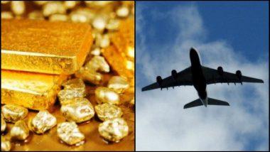 विमानातील टॉयलेटमध्ये तब्बल २६ लाख रुपयांचं सोनं