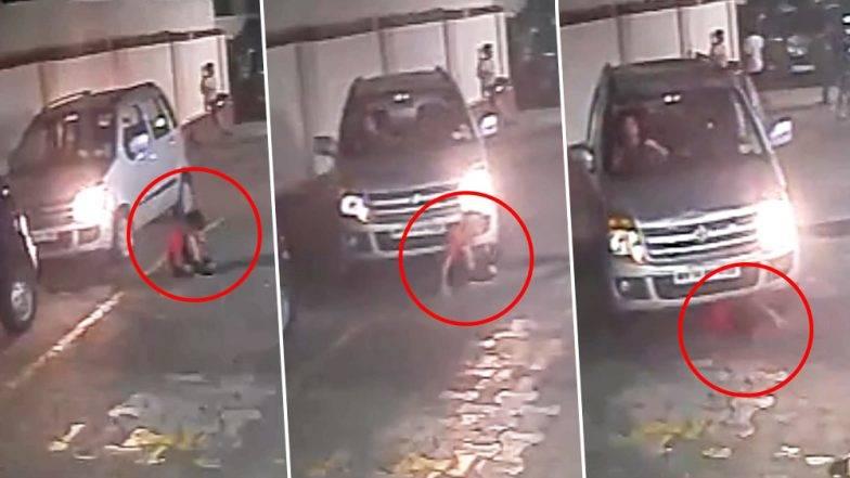 गाडीसमोर आलेला हा चिमुकला सुरक्षित कसा बाहेर पडला ?