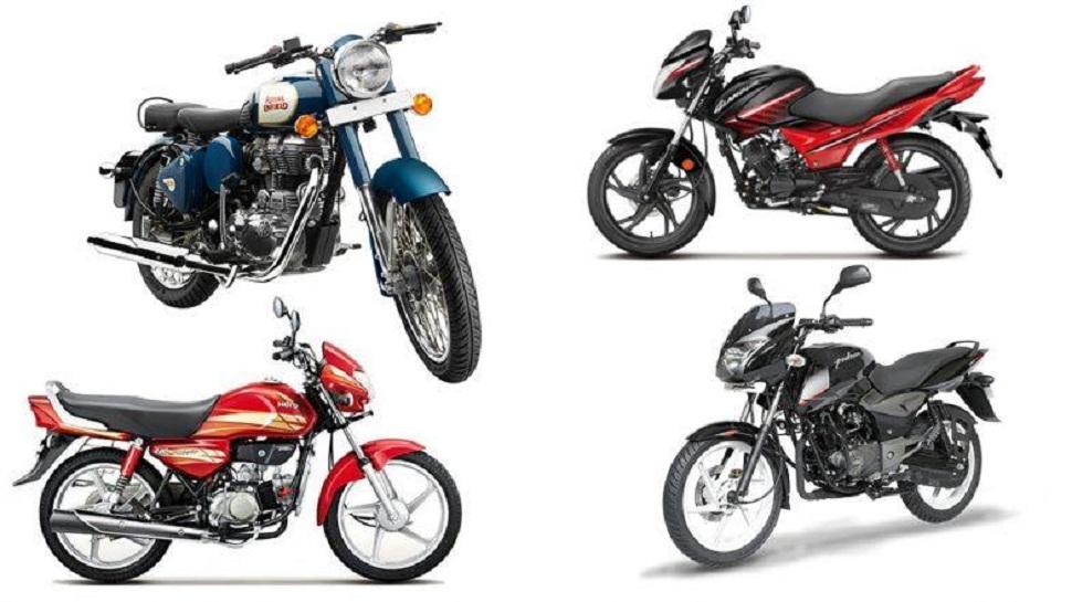 भारतात सर्वाधिक विकल्या जाणाऱ्या टॉप 5 बाईक