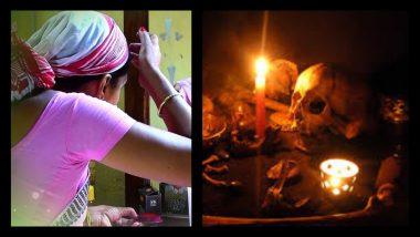 पत्नी, धनप्राप्तीसाठी तरुणाला विवस्त्र करुन पूजा; नंदूरबारमध्ये जादूटोणा