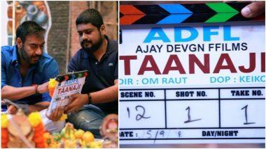 अजय देवगणचा ड्रीम प्रोजेक्ट 'तानाजी'चं शुटिंग सुरू, नोव्हेंबर 2019 ला होणार रीलिज