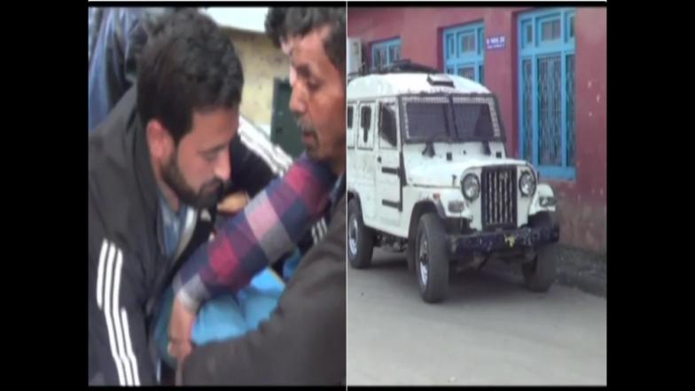 जम्मू काश्मीरमध्ये दहशतवादी हल्ला ; एक पोलिस अधिकारी शहीद