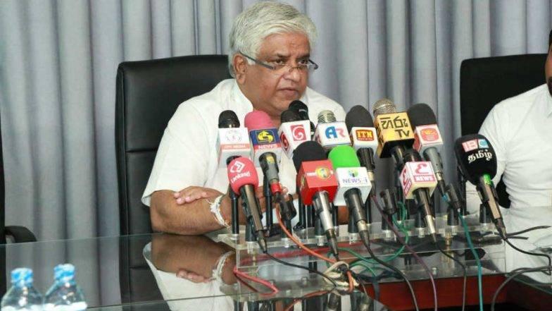 गोळीबार प्रकरणी श्रीलंकेचे पेट्रोलियम मंत्री अर्जुन रणतुंगा यांना अटक