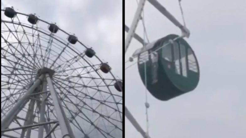 अन आईसमोर 130 फूट उंचावर आकाशात लटकत होता 5 वर्षांचा चिमुकला