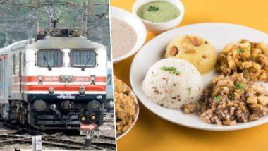 रेल्वेच्या इ-तिकिटांवरील शुल्कात वाढ केल्यानंतर आता राजधानी एक्सप्रेसमधील खाणं महागणार