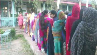 राष्ट्रपती राजवट लागू झाल्यानंतर जम्मू काश्मीरमध्ये महानगरपालिका निवडणुकीसाठी आज मतदान