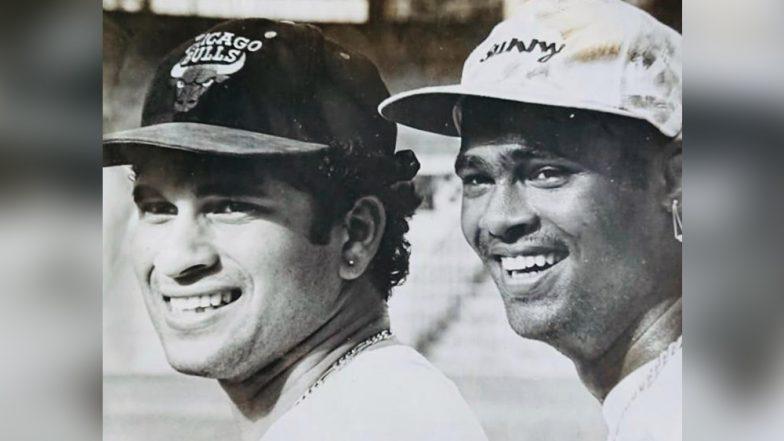 क्रिकेट अॅकेडमीच्या निम्मिताने सचिन तेंडूलकर आणि विनोद कांबळी परत आले एकत्र; युवा प्रतिभावान खेळाडूंचा घेणार शोध!
