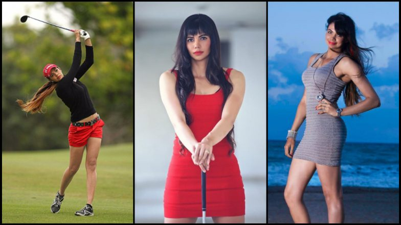 शर्मिला निकोलेट: सोशल मीडियावर नेटीझन्सचा कलेजा खलास करणारी भारतीय वंशाची गोल्फर
