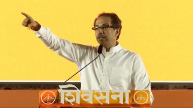 जमत नसेल तर, तसं सांगा! राम मंदिर आम्ही उभारु; उद्धव ठाकरेंचा घणाघात, आयोध्या दौऱ्याचीही केली घोषणा