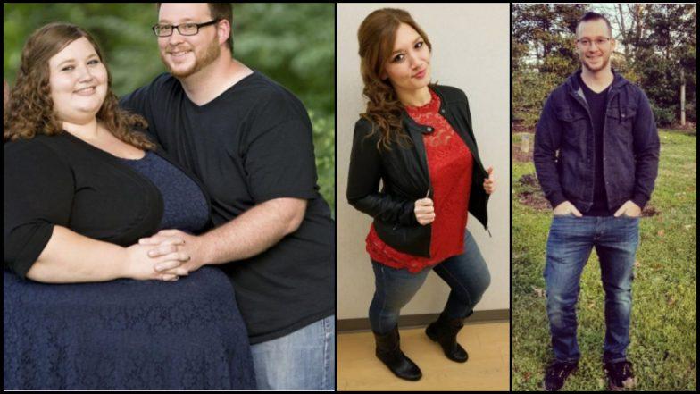 अचाट कामगिरी; जोडप्याने एका वर्षात कमी केले तब्बल १७० किलो वजन
