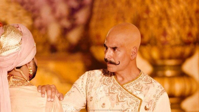 अक्षय कुमारचा 'बाल्ड' आणि योद्धाच्या रूपातील फोटो सोशल मीडियावर व्हायरल