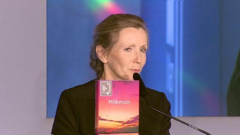 आयरिश लेखिका एॅना बर्न 'मॅन बुकर अवॉर्ड'ने सन्मानित
