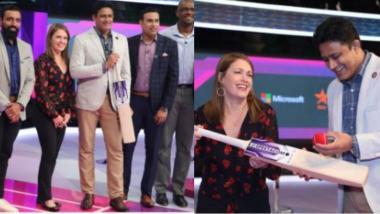क्रिकेटर अनिल कुंबळेने मायक्रोसॉफ्टच्या मदतीने लॉन्च केली पॉवर बॅट