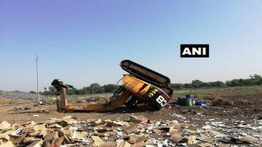 तळोजा एमआयडीसीत स्फोट; परिसरातील गावांना भूकंपसदृश्य धक्के