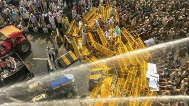 किसान क्रांती यात्रा: दिल्लीत शेतकऱ्यांवर बळाचा वापर; पोलिसांकडून लाठीहल्ला, पाण्याचा मारा