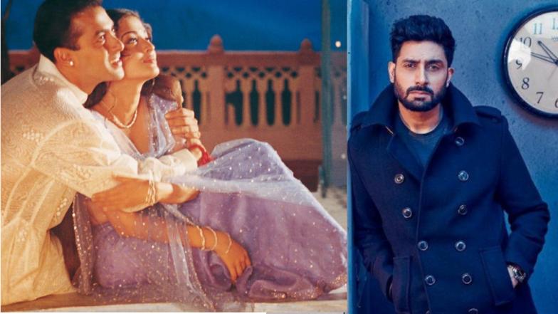 सलमान खान - ऐश्वर्या रायचा 'हम दिल दे चुके सनम' अभिषेक बच्चनचा आवडता रोमॅन्टिक सिनेमा