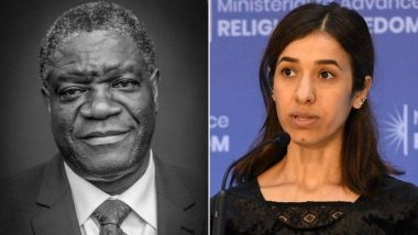 Nobel Prize 2018 : लैंगिक अत्याचाराविरोधात कार्य करणारे डॉ. डेनिस  मुकवेगे आणि नादिया मुराद यांना यावर्षीचा शांततेचा नोबेल जाहीर