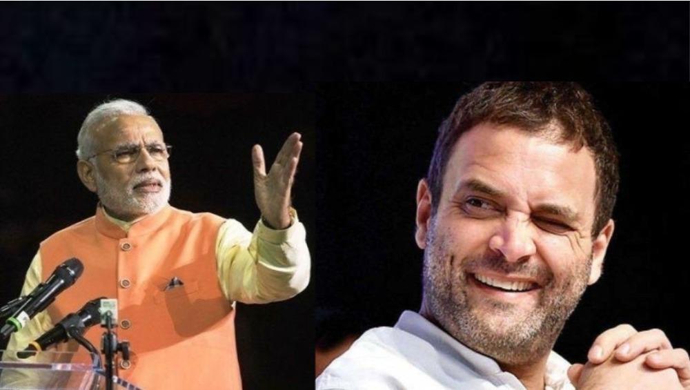 राहुल गांधींनी भाषणातून केली मोदींची नक्कल; व्हिडिओ व्हायरल