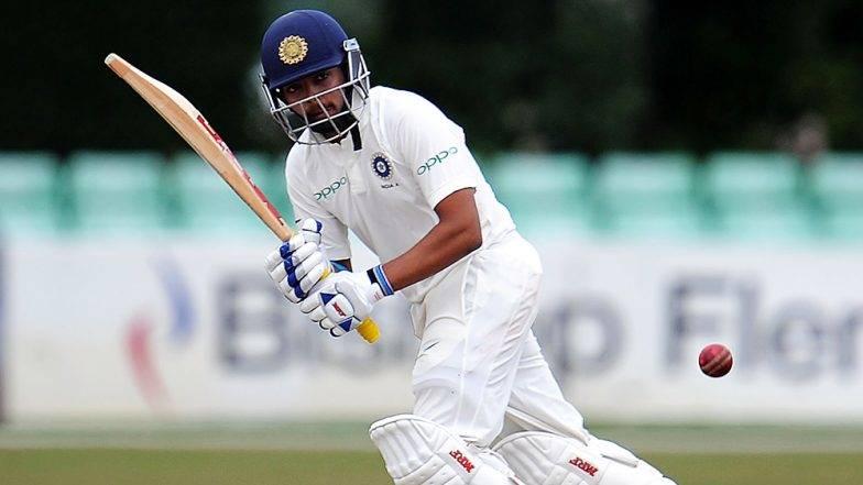 India vs West Indies राजकोट कसोटी: मुंबईच्या पृथ्वी शॉने पदार्पणातच ठोकले शतक