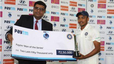 India vs West Indies 2nd Test: भारताच्या मालिका विजयात पृथ्वी शॉ चमकला, नव्या विक्रमांची नोंद