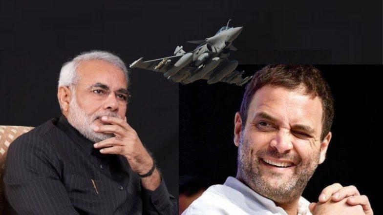पंतप्रधान मोदींनी 'राफेल डील'मध्ये भ्रष्टाचार केला: राहुल गांधी