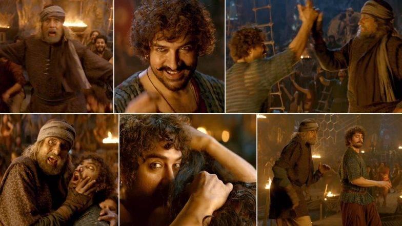 Thugs of Hindostan Song : अजय -अतुलच्या 'वाश्मल्ले' गाण्यावर आमिर खान आणि अमिताभ बच्चनचा बेभान डान्स (Video)