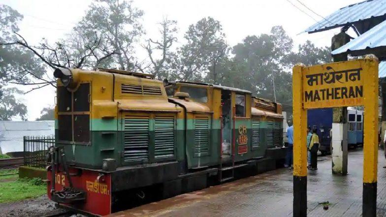 माथेरान ची 'मिनी ट्रेन' पर्यटकांसाठी वर्षभर बंद