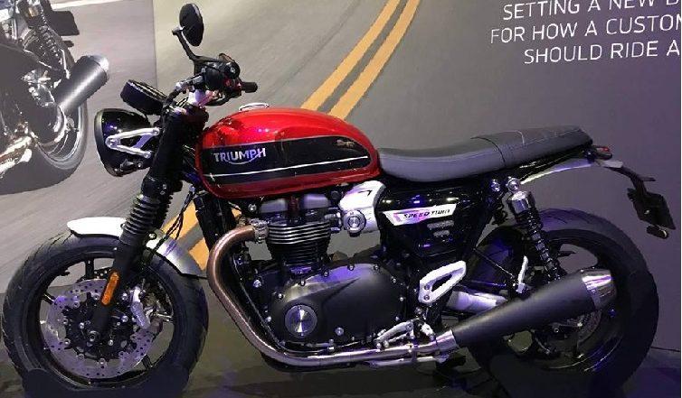 2019 Triumph Speed Twin बाईकचे फोटो सोशल मीडियावर व्हायरल