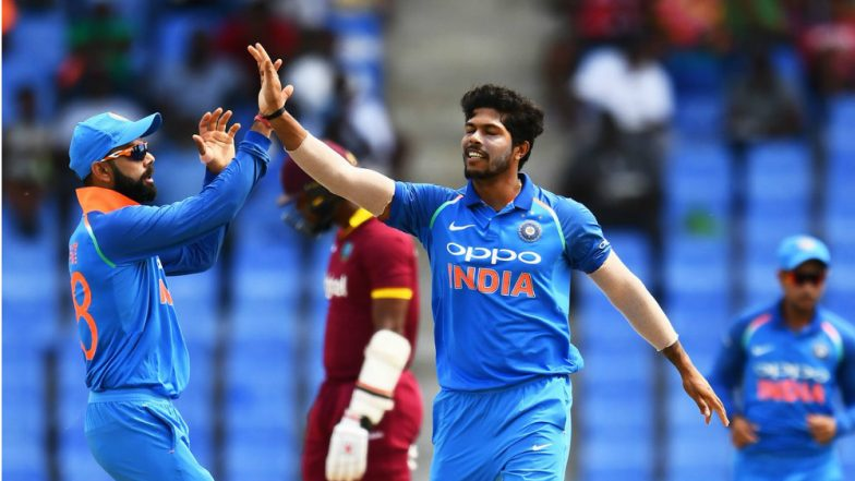 India vs West Indies ODI 2018: दुखापतग्रस्त शार्दुल ठाकूर ऐवजी उमेश यादवला संघात स्थान