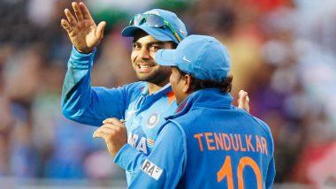 India vs West Indies ODI 2018: मास्टर ब्लास्टर सचिनचा विक्रम मोडण्याची कोहलीला 'विराट' संधी
