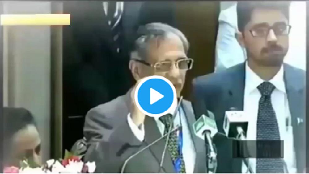 H2Zero: पाकिस्तानी न्यायाधिशांचा पाण्याचा अजब फॉर्म्यूला; ऐकणाऱ्याच्या तोंडचं पाळालं पाणी