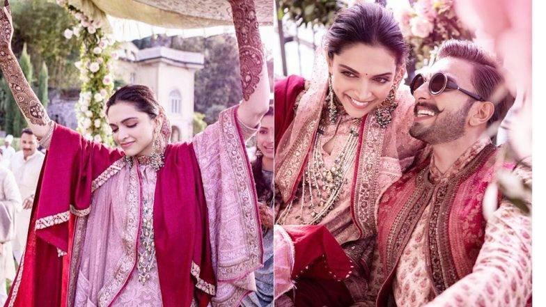 Deepika - Ranveer Wedding : दीपिका पदुकोणच्या मेहंदी पासून लग्नसोहळ्याचे फोटो, दीप-वीरने पुन्हा शेअर केले लग्नाचे खास क्षण