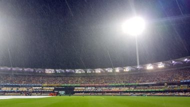 India Vs Australia 2nd T20I :  पावसामुळे भारत विरुद्ध ऑस्ट्रेलिया सामना रद्द
