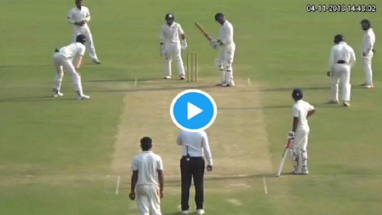 क्रिकेट: शिव सिंहच्या 360° चेंडूवरुन वाद; पंच सायमन टॉफेल म्हणाले हे चुकेचे (व्हिडिओ)