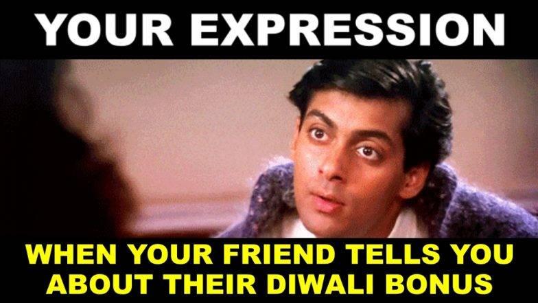 Diwali 2018 :  सोशल मीडियावर दिवाळी बोनस 2018 मीम्स व्हायरल