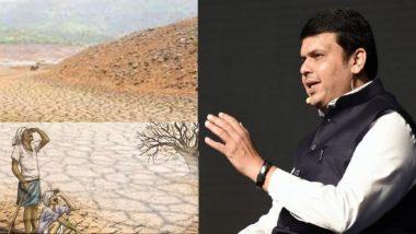 महाराष्ट्रातील दुष्काळ निवारणासाठी केंद्र सरकारकडे ७ हजार कोटींचा प्रस्ताव : मुख्यमंत्री देवेंद्र फडणवीस