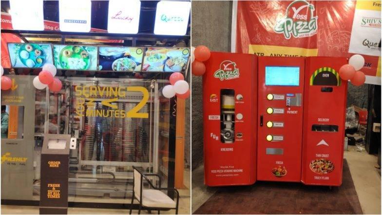 मुंबई सेंट्रल स्थानकावर फूड वेडिंग मशीन देणार ताजा पिझ्झा, आईस्क्रिम, फ्रुट ज्युस !