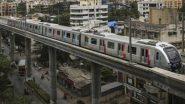 मुंबई मेट्रोच्या कामामुळे शहरात प्रदुषण होत असल्याच्या कारणास्तव शिवसेनेचे आंदोलन