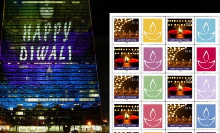 Diwali 2018 : UN कडून भारतीयांना खास दिवाळी गिफ्ट, दिव्यांची पोस्ट तिकीट सुरू