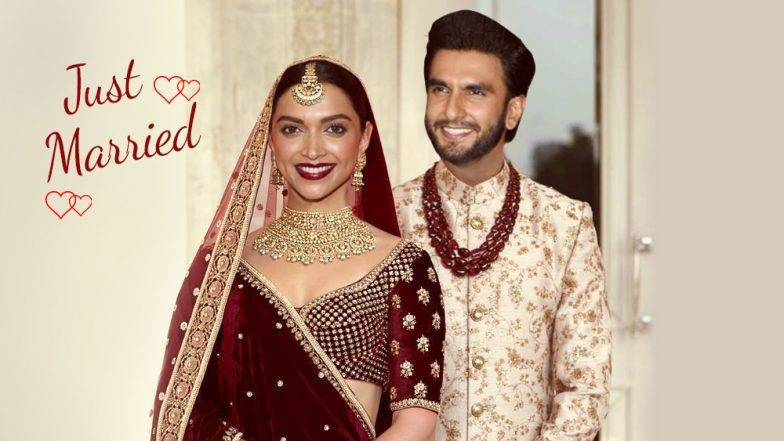 Deepika - Ranveer wedding : दीपिका आणि रणवीर सिंग इटलीत विवाहबंधनात अडकले !