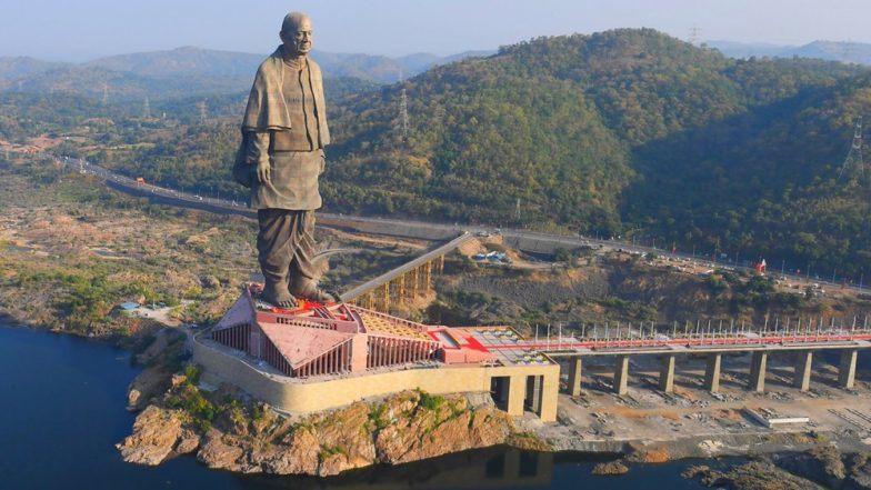Statue Of Unity पाहण्यासाठी पर्यटकांची रेकॉर्डब्रेक गर्दी, शनिवारी २७,००० लोकांनी पहिला पुतळा