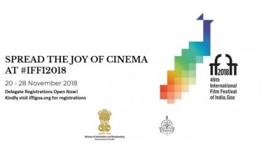 49th International Film Festival Of India : आजपासून गोव्यामध्ये होणार सुरु