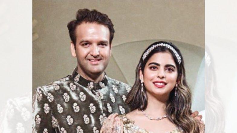 Engagement Photo : इशा अंबानी आणि आनंद पिरामल