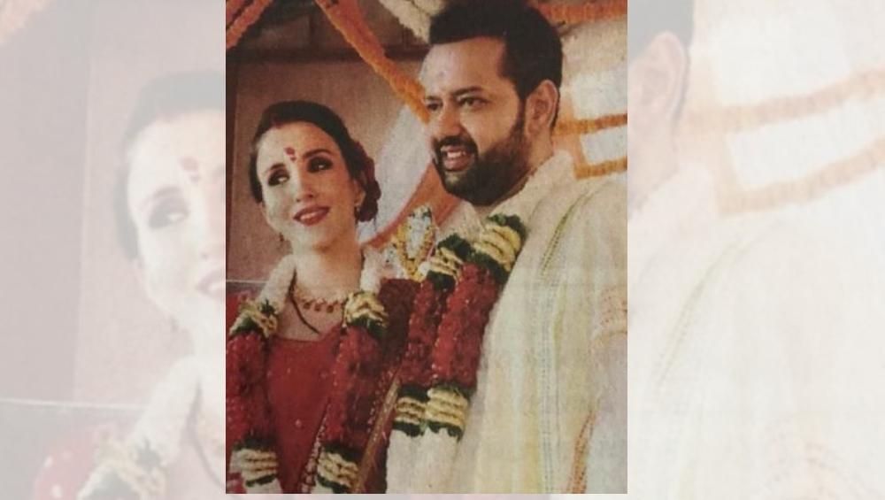 राहुल महाजने केले तिसऱ्यांदा लग्न