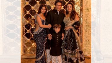 शाहरुख खानची दिवाळी पार्टी, सेलिब्रेटींची मांदीयाळी (Photos)