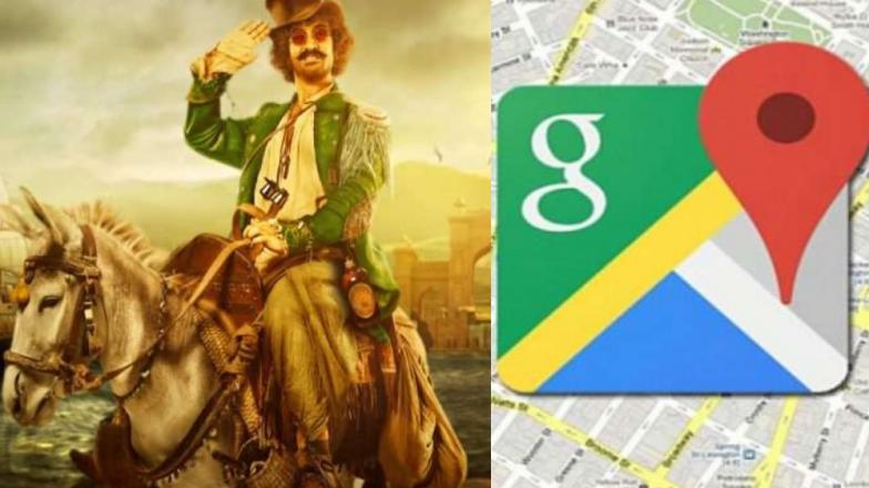 Thugs of Hindostan चे हटके प्रमोशन ; Google Map वर आमिर खान होणार वाटाड्या
