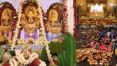 Kartik Purnima 2018 : बाणगंगा दिव्यांनी उजळली, महालक्ष्मी, दगडूशेट गणपती मंदिरात अन्नकोट सोहळा