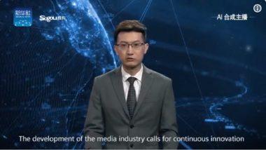 जगातील पहिला रोबो वृत्तनिवेदक ; चीनी वृत्तसंस्थेने केली निर्मिती (Video)