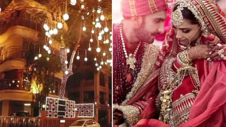 Deepika Ranveer Wedding: दीपिकाच्या स्वागतासाठी असे सजले रणवीर सिंगचे घर (Video)
